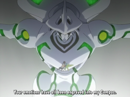 Because the writers didn't bother watching Eureka Seven's ending.